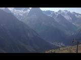 Домбай. Панорама при спуске с г.Мусса-Ачитара