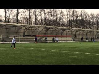 FC ISKRA - Хамовники-09  1 тайм