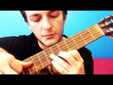 2) Играем на гитаре первую мелодию — перебор и бой цыганочка PIROLIZ .COM