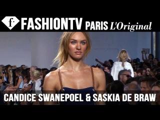 Models Candice Swanepoel & Saskia de Brauw   Beauty Trends for Spring/Summer 2015   FashionTV