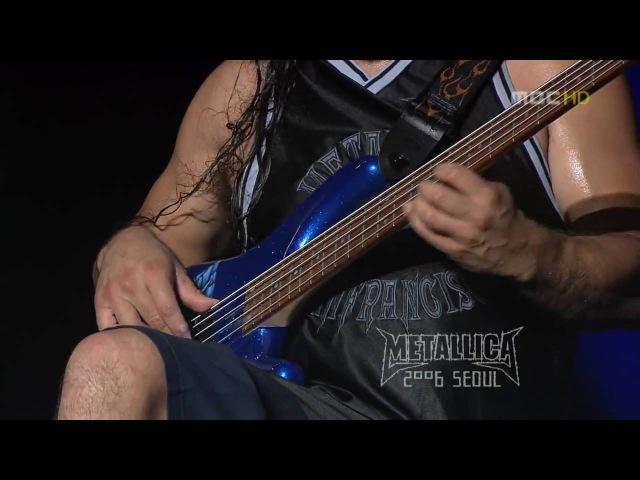 Metallica - Orion live in Seul
