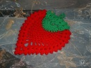 Прихватка ягодка (Oven gloves Berry)