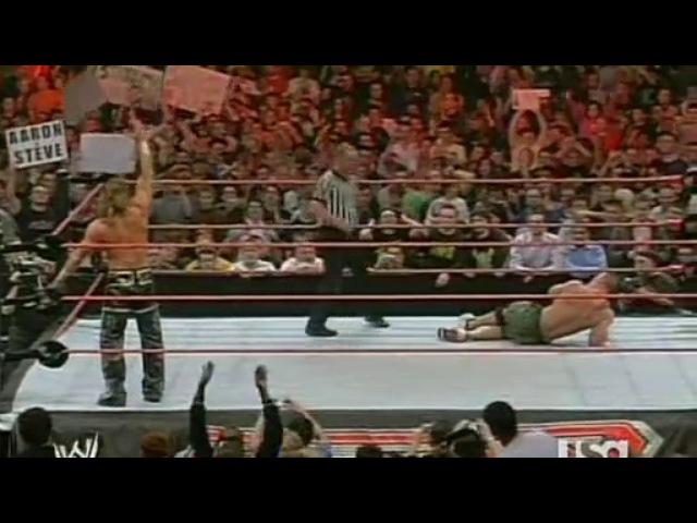 Джон Сина vs Шон Майклз - WWE Monday Night RAW, 23.04.2007