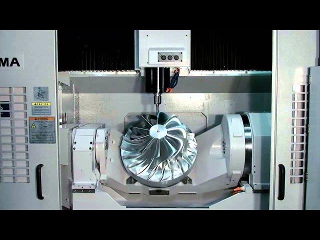 Okumas 5-Axis Vertical Machining Center, MU-500VA