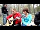 Девушка очень класно играет на гитаре и поет (супер).mp4