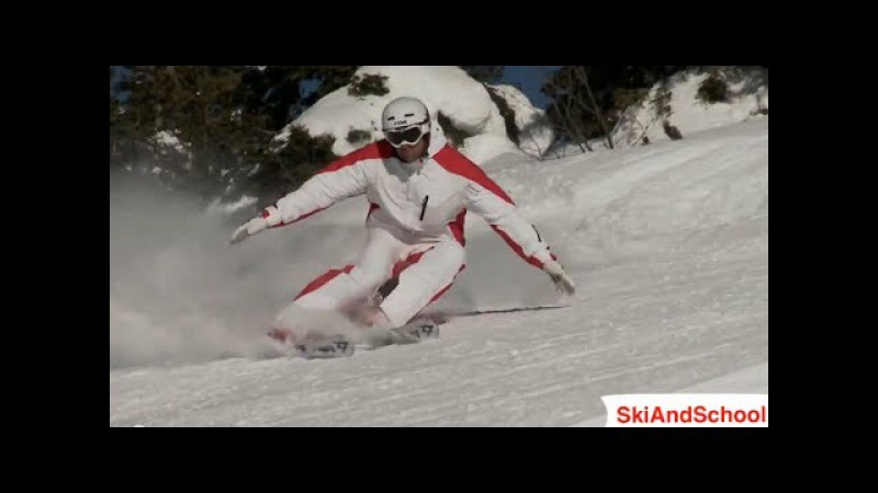 Урок 24 1❄Горные лыжи обучение❄ Карвинг на горных лыжах 6 смотреть онлайн без регистрации