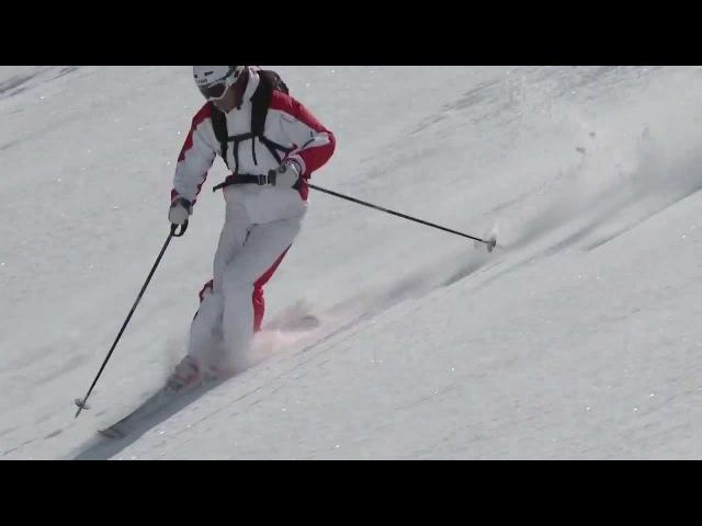 Урок 31 - Фрирайд: обучение катанию на горных лыжах по целине(7) » Freewka.com - Смотреть онлайн в хорощем качестве