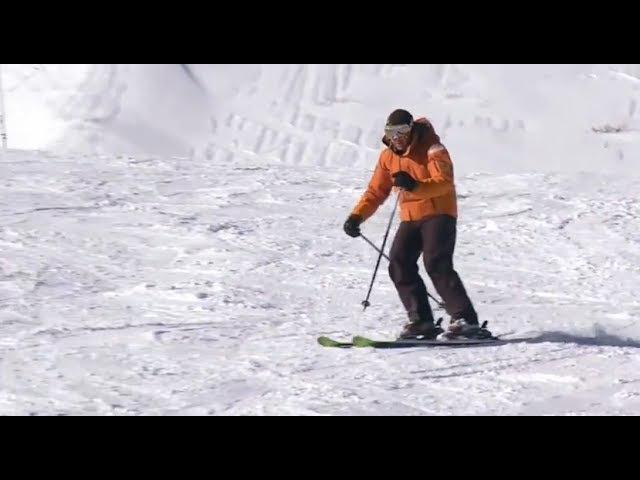 Урок 19 - Укол и правильное положение рук в горных лыжах