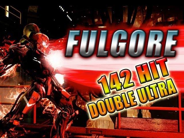 FULGORE -142 Hit Double Ultra Combo (Killer Instinct 2014)