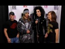 Tokio Hotel - MTV EMA 2008 - Interview after show