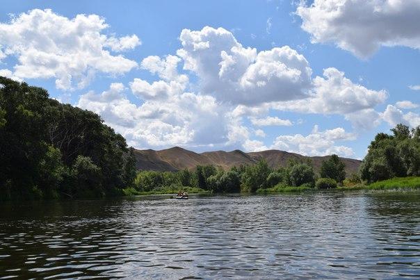 Река Урал в верховьях Хабарнинского ущелья