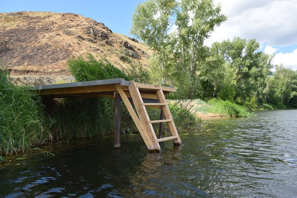 Оборудованный подход к воде