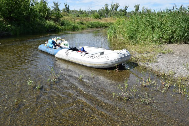 Связка лодок