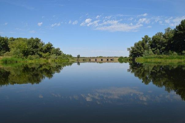 Мост у села Урал