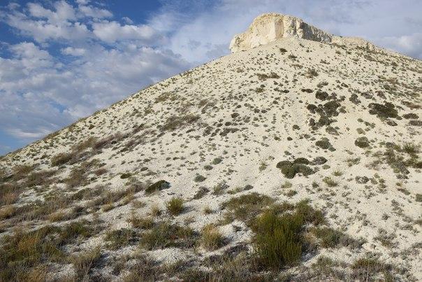 Верхнечибендинские меловые горы-урочище Турты