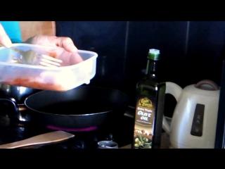 Куриная грудка на сковородке за 15 минут [Спортивная диета]
