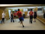 Первая репетиция танц.коллектива