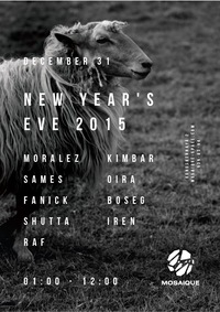 MOSAIQUE NEW YEAR'S EVE 2015