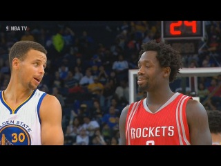 Golden State Warriors vs Houston Rockets Full Game Highlights | 2015 NBA PRE-SEASON (60 fps)