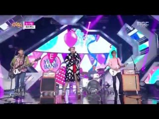 [PERF] 141129 Yery Band - Snow Love @ Music Core