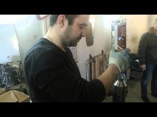 Очистка форсунок и клапанов 2 3 Turbo Mazda 6 MPS очистителем Pro Tec Про Тек