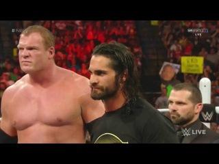 (WWEWM) ВВЕ РО 06.04.2015 - Открывающий сегмент + Ренди Ортон против Кейна