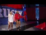 (WWEWM) ВВЕ Смекдаун 02.04.2015 - Сегмент с Джоном Синой, Русевым и Ланой
