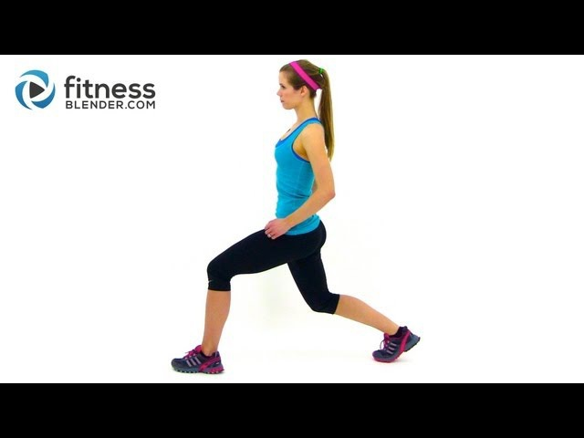 Fitness Blender 5x5x5 Pulse Workout for Butt Thighs Legs on Fire Workout