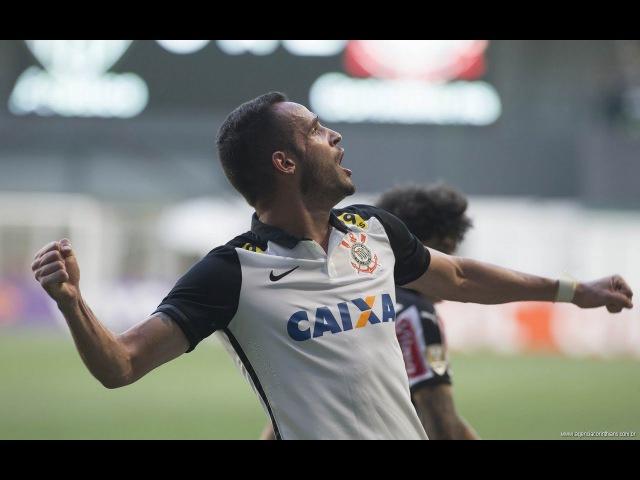 Drible Renato Augusto em cima do Luan Atlético - MG 0 x 3 Corinthians