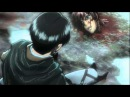 Shingeki no kyojin вторжение титанов Гнев Леви