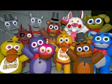 Plushies Reaction to Five Nights at Freddy's 4 Trailer   FNAF SFM