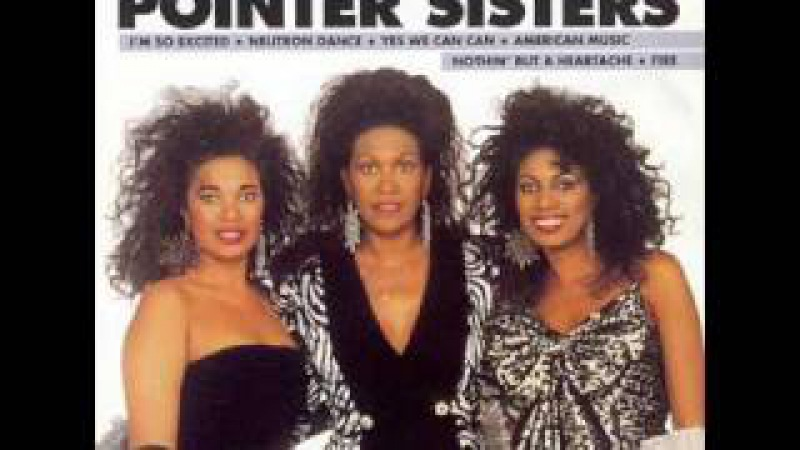 The pointer sisters - Im so excited