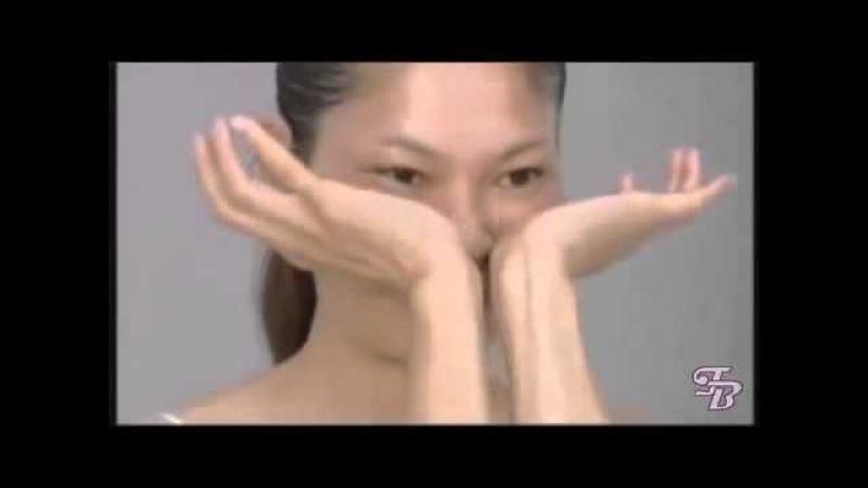 Японский массаж лица Zogan АСАХИ краткая версия без перевода