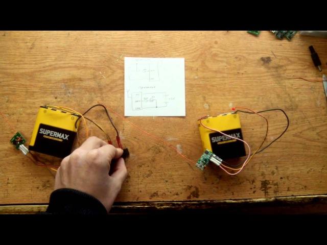 Передатчик и приемник на 433Мгц