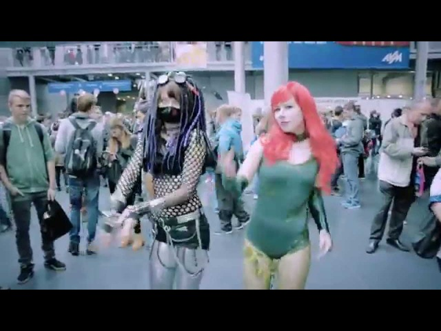 Poznań Game Arena 2015 Industrial Dance Madness by Sayomi [ COSPLAY Music Video ]