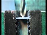 Заточка сверл для сверления листового материала.