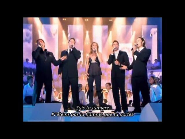 IL DIVO I Believe In You duet with Celine Dion~Live at The Greek Theatre with Lyrics