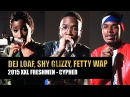 DeJ Loaf, Fetty Wap Shy Glizzy Cypher - 2015 XXL Freshman Part 3
