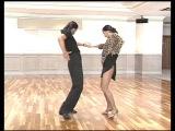 Donnie Burns basic steps - dance lessons in Los Angeles by ballroom dance instructor Oleg Astakhov