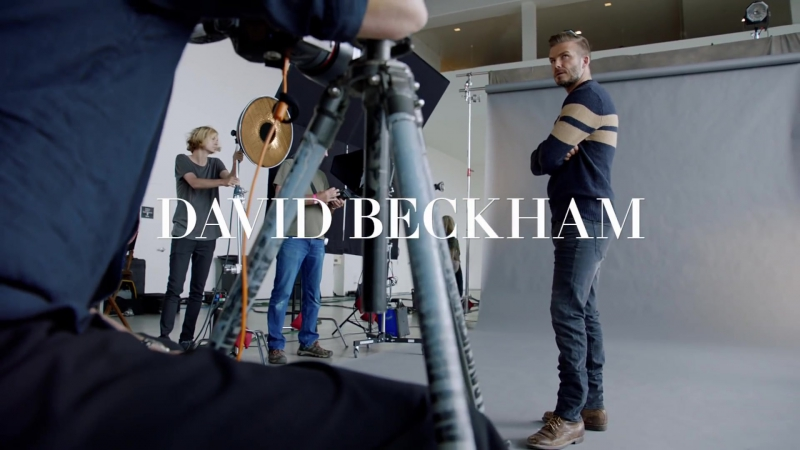 HM Modern Essentials selected by David Beckham featuring Kevin Hart