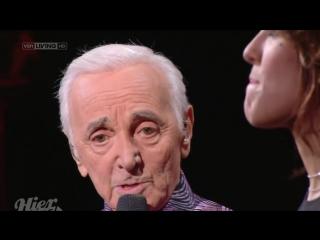 Zaz et Charles Aznavour - Jaime Paris au mois de mai