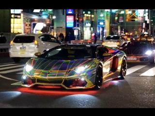 ~クリスマスに六本木を走るド派手なスーパーカー達~/【X'mas night】Supercar in Tokyo
