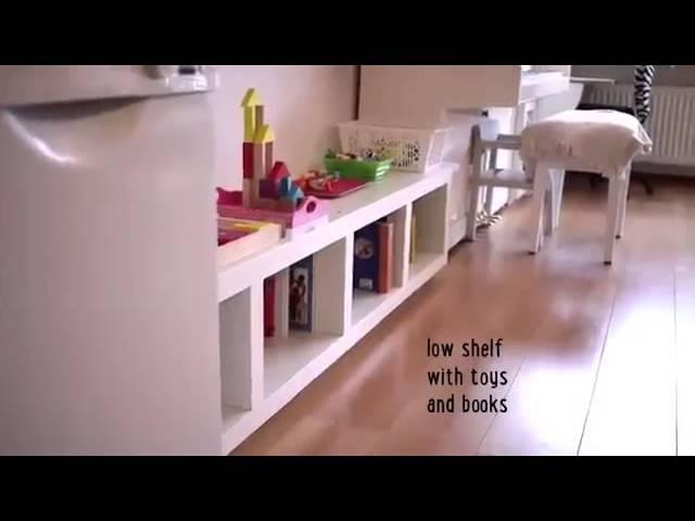 Монтессори в домашних условиях: как создать среду в маленьком помещении