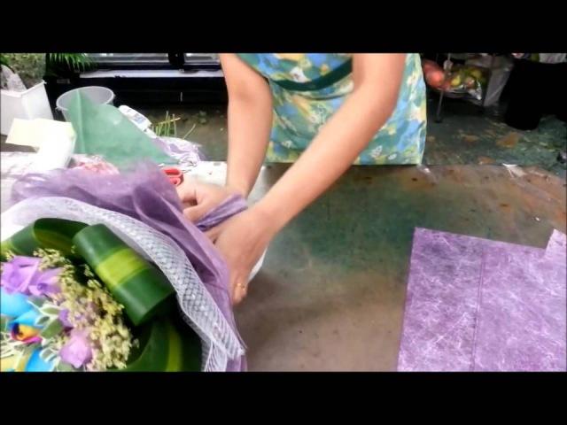 Флористика для начинающих как составить и упаковать чудесный букет своими руками (мастер класс).