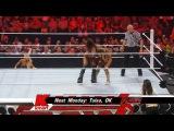 (WWEWM) WWE RAW 22.08.2011 - Nikki Bella vs. Eve Torres