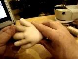 Мастер класс по созданию каркасной куклы Дашенька в скульптурно-текстильной (чулочной) технике ч.7