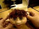 Мастер класс по созданию каркасной куклы Дашенька в скульптурно текстильной чулочной технике ч 6