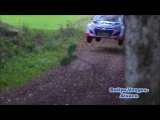 Essai Dani Sordo Hyundai i20 wrc 2014 Rallye Vosges Alsace
