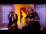 Brian May &amp Kerry Ellis - Born Free (Live This Morning)