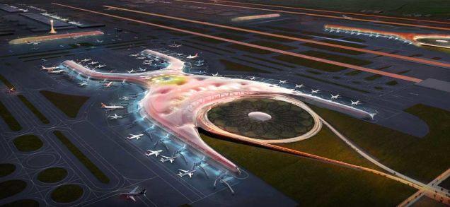 Проект крупнейшего аэропорта нашей планеты